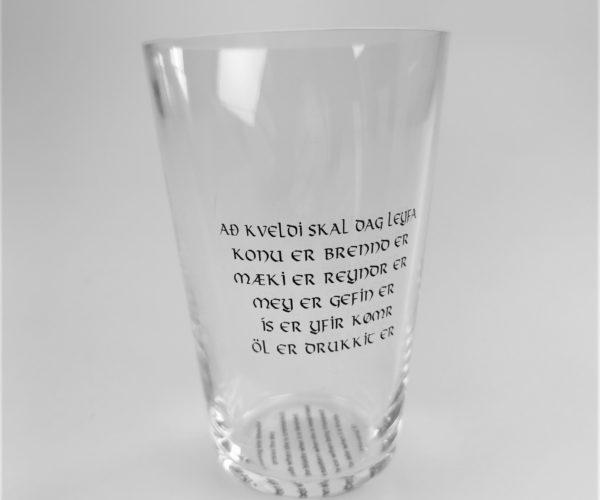 Hornglass – Håvamål Vers 81