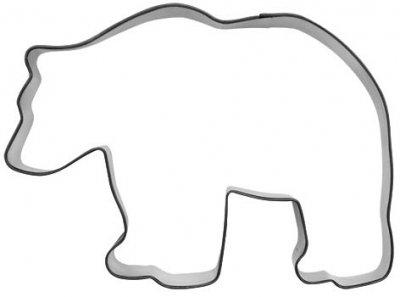 Kakeform Bjørn