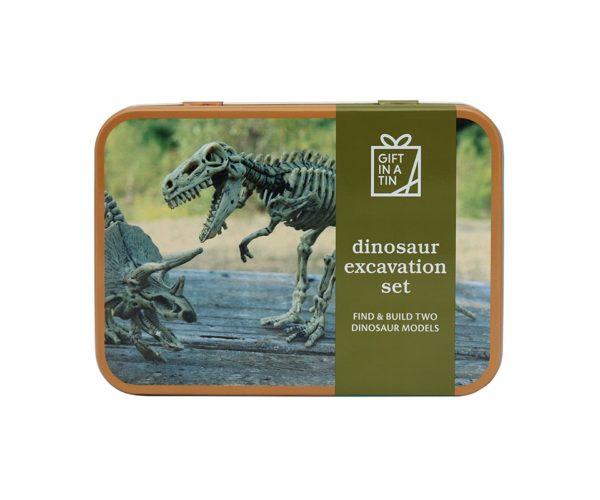 Gift In A Tin – Dinosaur Utgravings Sett
