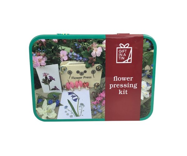 Gift In A Tin Flower Press