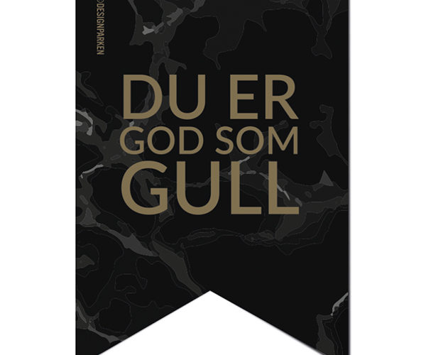 Pakkelapp – God Som Gull