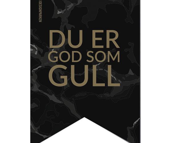 Pakkelapp – God Som Gull