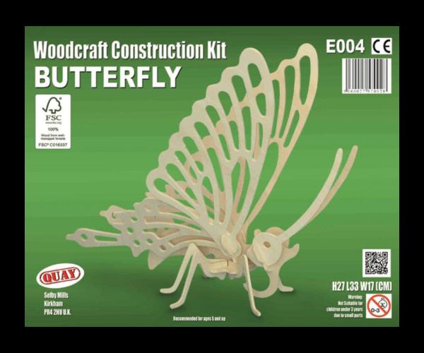 Byggesett – Sommerfugl