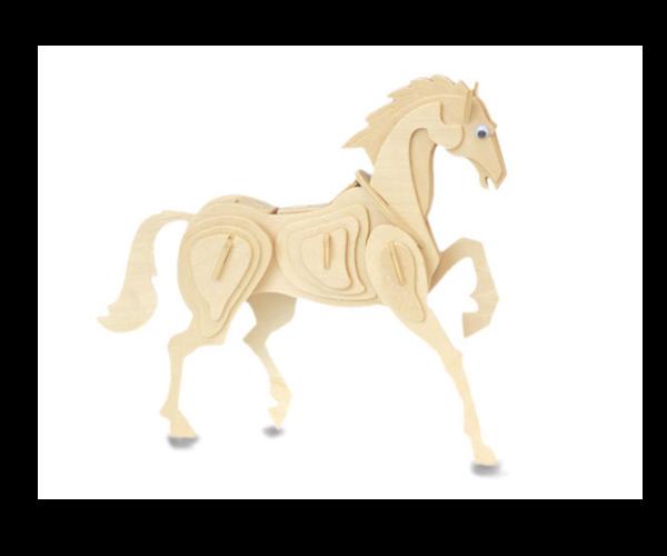 Byggesett I Tre – Hest