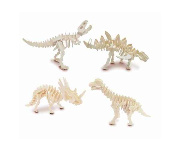 Byggesett I Tre – Dinosaur Sett