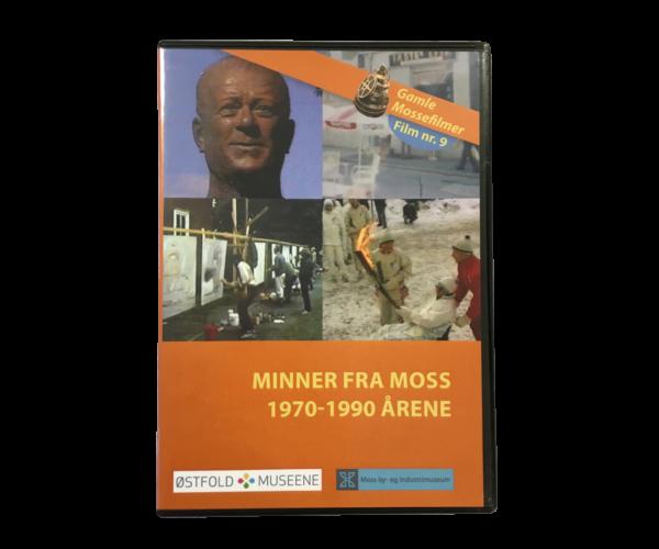 DVD: Minner Fra Moss 1970-1990 årene