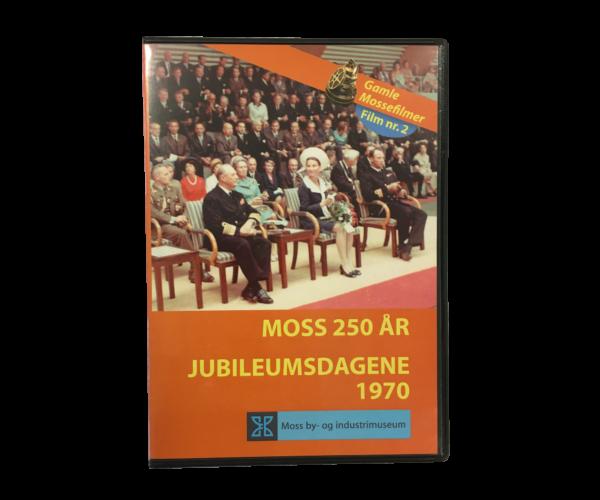 DVD: Moss 250 år / Jubileumsdagene 1970