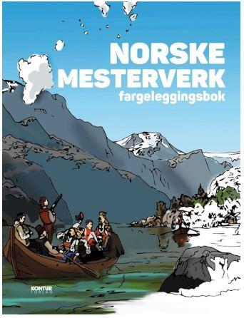 Norske Mesterverk Fargeleggingsbok