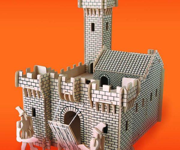 Byggesett I Tre -Ridder Slott