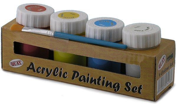 Akrylmaling 4 Farger