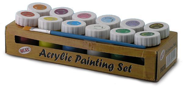 Akrylmaling 12 Farger