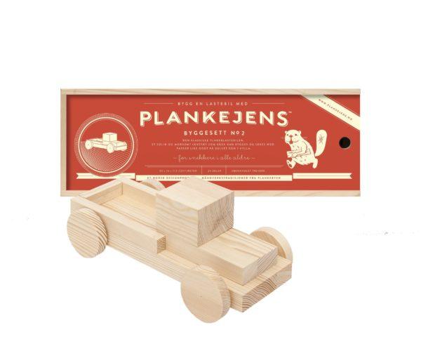Plankelastebil