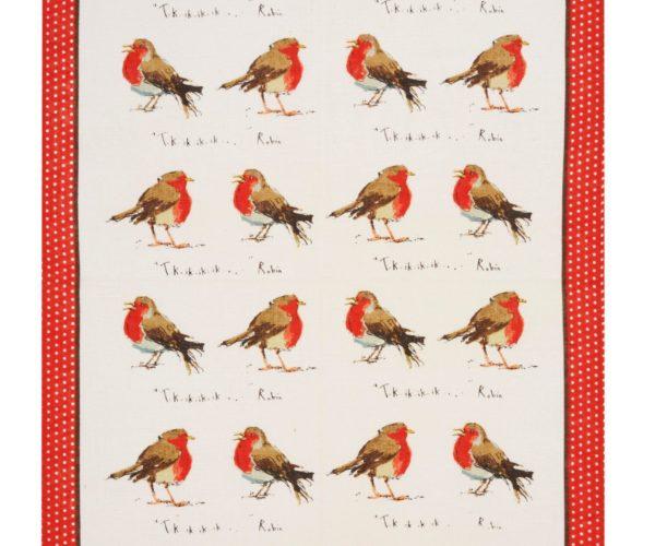 Kjøkkenhåndkle – Rødstruper