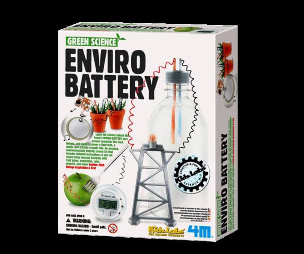 Miljøbatteri