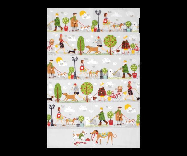 Kjøkkenhåndkle – Hunder