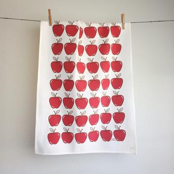 Kjøkkenhåndkle – Røde Epler